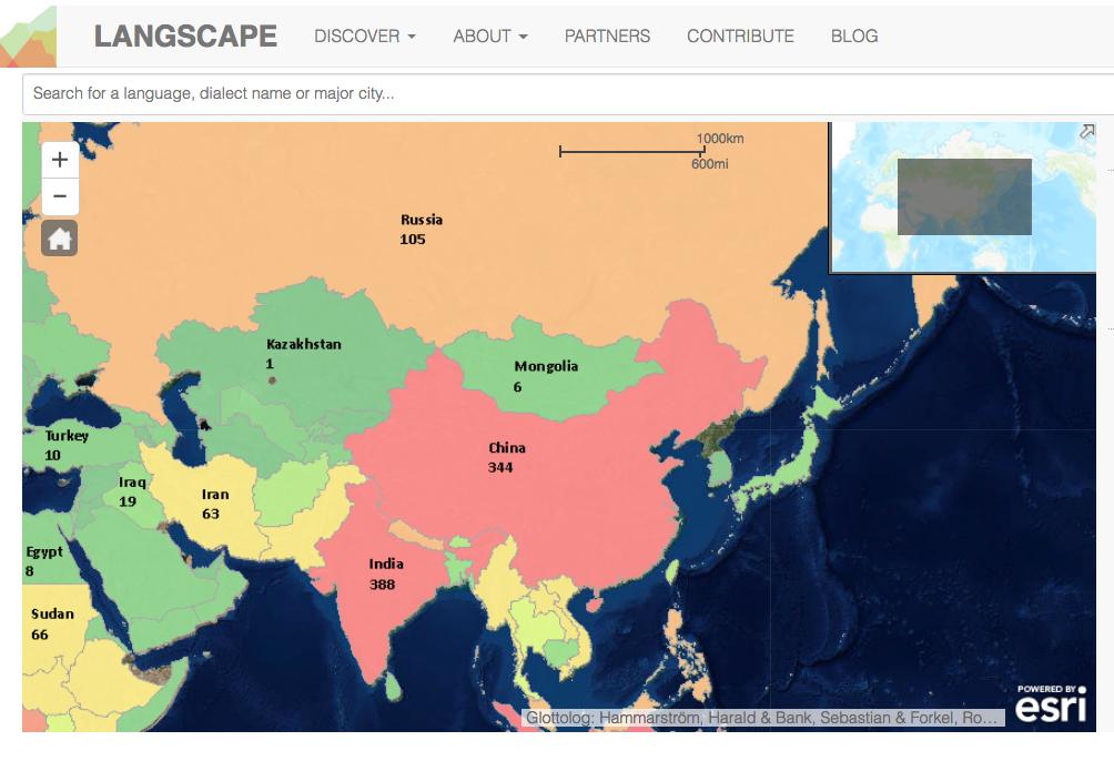 Langscape Maps